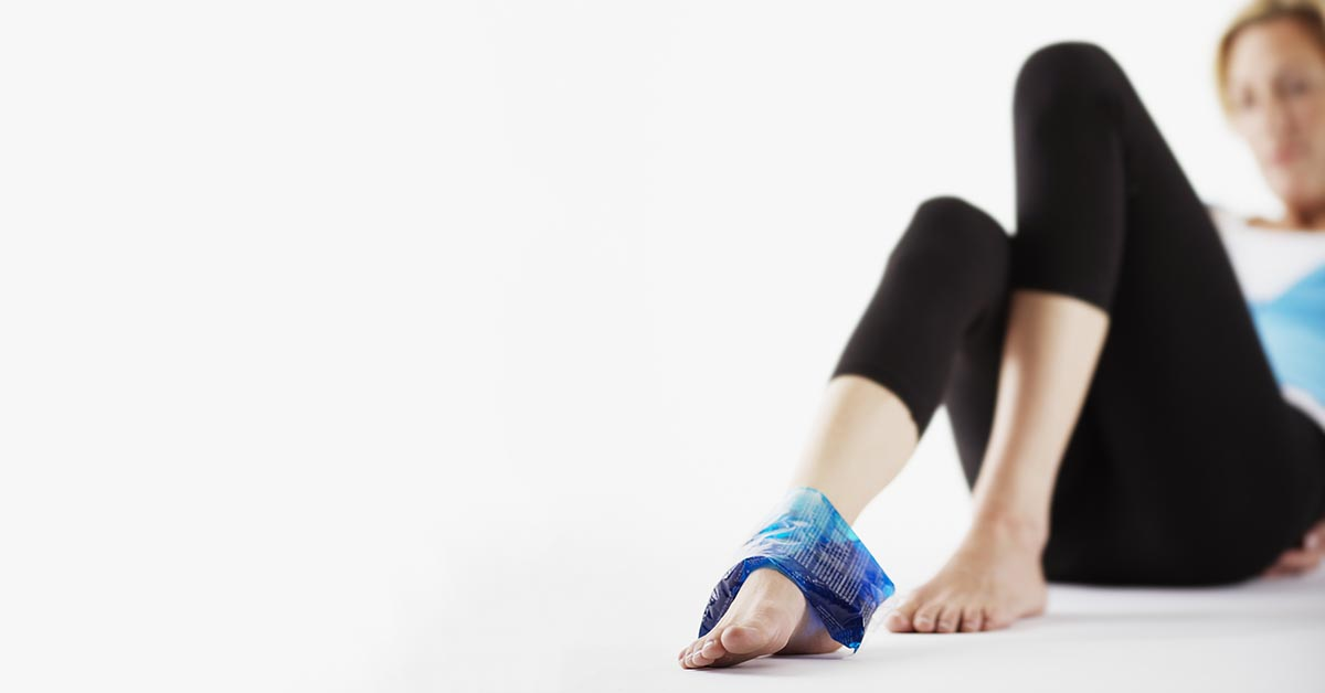 San Angelo natural ankle sprain treatment